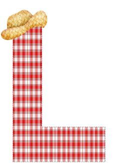 CH.B *✿* Backyard Picnic, Letter L, Different Fonts, Alphabet And Numbers, Minnie, Plaid Pattern, Nursery Rhymes, Free Printables, Alice