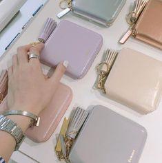 Fennec 折りたたみ財布 [Fennec] Pastel Zipper Wallet  二つ折り財布 (パステル色)(9)