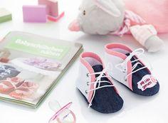 Nähanleitung: Babyschuhe selber nähen | buttinette Blog