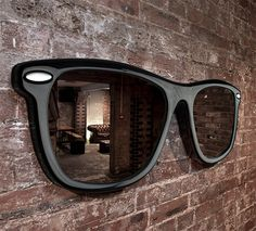 """""""Looking Good"""" Wall Mirror by Thabto"""