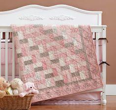 Pretty Pink Baby Quilt