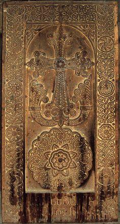 Khachkar in tomb of Mesrop Mashtots (442-443), 1421
