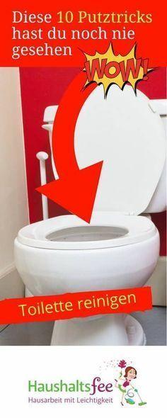 Toilette reinigen mit a Hausmitteln. Diese 10 Putztricks hast du noch nie gesehen | Haushaltsfee.org