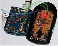 DIY: Convertir un mouse óptico en una Arduino Webcam