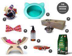 Cat Gifts - cat beds, cat bowls, cat scatchers cat shampoo cat treats, cat collars