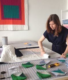 Hey guys! Check out this amazing interview with design duo and owners of Hopewell a quilt company! It was amazing to see what inspired them and how they work together to create their beautiful designs.