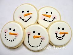 Happy (I almost missed it) Hanukkah to my wonderful daughter Michelle and her family, Ari, Gabriel and Tali. Iced Sugar Cookies, Christmas Sugar Cookies, Christmas Cupcakes, Holiday Cookies, Snowman Cookies, Fun Cookies, Christmas Deserts, Christmas Treats, Schneemann Cookies