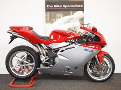 MV Agusta F4 750 F4 SR LIMITED EDITION PRISTINE CONDITION, 0.7 Petrol, Manual, 500 miles, red and silver, 0 doors, 1 owner at The Bike Specialists for £10,980.