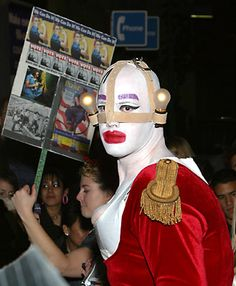 Leigh Bowery, Conceptual Fashion, The Blitz, Club Kids, Weird Fashion, Monster Party, Club Style, Rupaul, Plastic Surgery