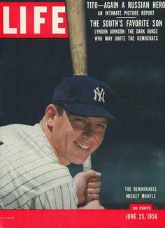 New York Yankee Mickey Mantle
