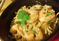 Cilantro Lime Shrimp Linguine Recipe -  Very Delicious. You must try this recipe!