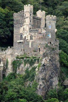 Rheinstein Castle in Germany