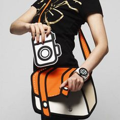 Handbags that look like outputs from a cartoon ... Who wants?