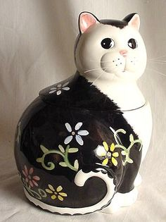 .Cat Cookie Jar