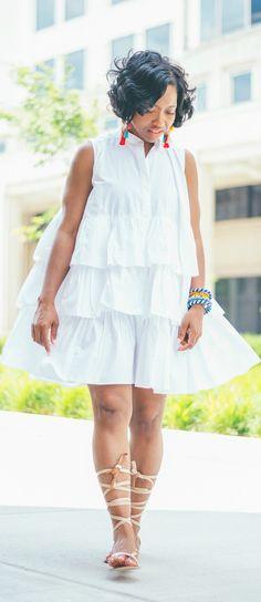 Sweenee Style, White oversized Shirt, Indiana Style Blog, Indianapolis, White shirt dress
