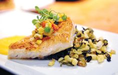 Pan-seared red snapper at Coolinary Cafe in Palm Beach Gardens