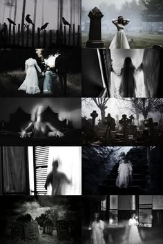 """→ Ghosts """"The ignorant frighten children with ghosts, and the better educated assure them there is no such thing. Our understanding may believe the latter, but our instincts believe the former; so that, out of this education, we retain the terror, and just believe enough to make it very troublesome whenever we are placed in circumstances that awaken it."""""""