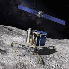rosetta has savely landed on comet 67P