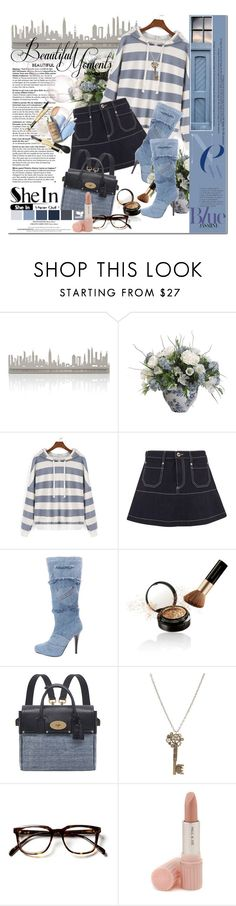 """""""Shein contenst - Sweatshirt"""" by astromeria ❤ liked on Polyvore featuring Valerie Atkisson, RED Valentino, Elizabeth Arden, Mulberry and Paul & Joe"""