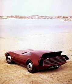 1968 Dodge Charger-III Prototype Show Car by J. Samsen