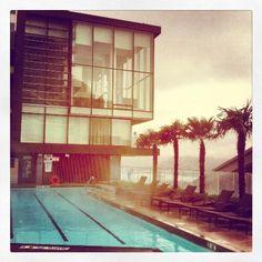 Fairmont Pacific Rim pool.