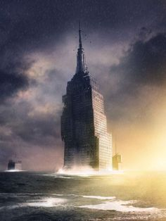 empire state building post apocalyptic