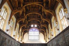 Hampton Court Palace - Great Hall Hammerbeam Ceiling Looking East | Flickr