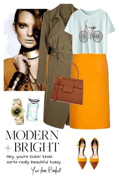 """""""New Look Trench coat"""" by lera-chyzh ❤ liked on Polyvore featuring Gianvito Rossi, Anita & Green, Nina Ricci, Tom Ford, Marc by Marc Jacobs, Terry de Gunzburg, women's clothing, women's fashion, women and female"""