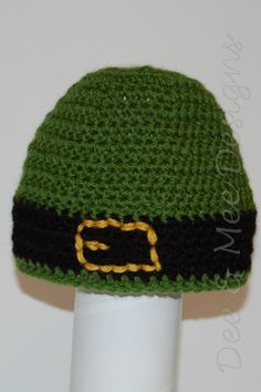 St Patrick's Day Belted Beanie Crochet