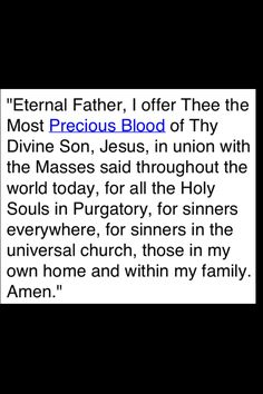 Prayer for the Poor Souls