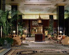 Waldorf Astoria New York. (Timeless lobby.)