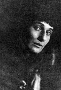 Анна Ахматова, 1921