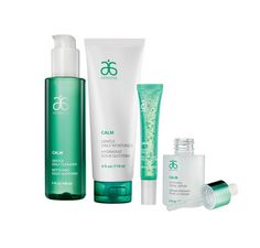 Don't be so sensitive. For best results, use all four Calm products together. Your skin will thank you.