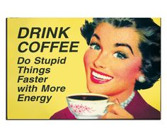 Placa Decorativa Drink Coffee - 20X29cm | Westwing - Casa & Decoração