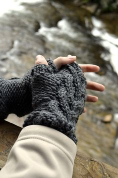 Ravelry: Journey Gloves by Annie Riley Knitting Projects, Knitting Patterns, Crochet Patterns, Hand Warmers, Fingerless Gloves, Mittens, Annie, Ravelry, Knit Crochet