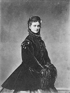 "Duchesse Sophie of Bavaria, (1847-1897) wife of Ferdinand d'Orléans, Duke d'Alençon. The Duchess d'Alençon, once engaged to marry her cousin, Ludwig II of Bavaria and sister to ""Sisi"" Empress of Austria, died in May of 1897 in the horrific fire of the Charity Bazar"