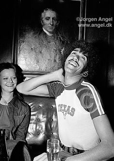 Phil Lynott -Thin Lizzy photo by Jorgen Angel