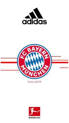Fc Bayern Munich, Neuer Goalkeeper, Bayern Munich Wallpapers, Sports Pictures, Soccer Ball, Manchester United, Logos, Football Shirts, Hs Sports