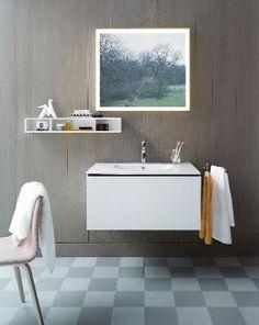 Duravit L-Cube: Design bathroom furniture series Bathroom Furniture Design, Modern Bathroom Design, Oak Bathroom, Bathroom Storage, Bathroom Ideas, Duravit, Upstairs Bathrooms, Chic Bathrooms, Vanity Units