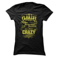 PROMO Florist - Im A Florist That Means Im Creative, Ha T Shirt, Hoodie, Sweatshirt