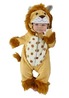 Infant Safari Lion Costume - Safari Lion Infant Costume The King of the Jungle! This costume includes a one piece brown zip up front jumpsuit .  sc 1 st  Pinterest & Lilu0027 Lion Baby Costume | Wild Wheels | Pinterest | Baby costumes ...