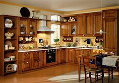 """A vidéki otthon"": A vidéki konyhabútor Sweet Home, Kitchen Cabinets, Table, House, Furniture, Home Decor, Kitchen Ideas, Kitchens, Rooms"