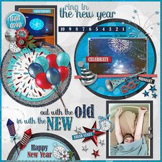 GingerScraps :: Embellishments :: At Midnight Elements by JoCee Designs   Layout by GS CTM Annemarie  #digitalscrapbooking#digiscrapping#digitalart#scrapbooking#makingmemories#Midnight#new year#new years' eve#auld lang syne#happy new year#balloons#champagne#fireworks#party#hat#noise maker#mask#clock#bling#disco ball#countdown#cork#glass#new beginnings#gingerscraps#joceedesigns