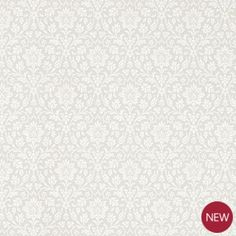 Annecy Dove Grey Floral Wallpaper