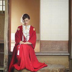 珍しい花嫁和装「赤無垢」を着た花嫁コーディネートまとめ | marry[マリー]