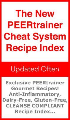 Cheating Gourmet Recipe Index! Lots of Anti-Inflammatory Recipes! #CheatingGourmet #CheatSystemDietADVANCED