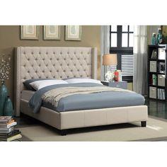 Park Upholstered Platform Bed