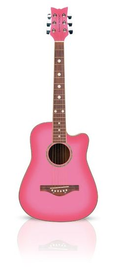 Pink Superstore Features Daisy Rock Guitars For Girls, Pink Guitars, Acoustic Guitars, Pink Acustic Guitars, Daisy Rock Pink Guitar & More. Baby Pink Colour, Pink Love, Pretty In Pink, Pink And Green, Hot Pink, Lps, Pink Piano, Pink Music, Music Music