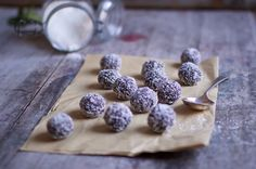 Therapy Balls - This recipe is one of my absolute favourites because rather than bulking out the mixture with nuts, like so many bliss balls do, I've added in the sweet and chewy combo of prunes and brown rice.