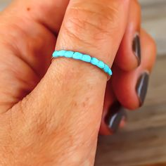 Sleeping Beauty Turquoise Ring | Bohemian Jewelry | Indie and Harper